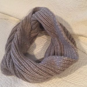 Accessories - Grayish tan soft infinity scarf